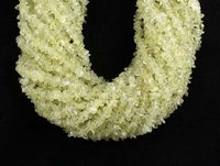 Lemonquartz Uncut Chips Beads, Lemonquartz Chips Bead, 36 Inches Strand