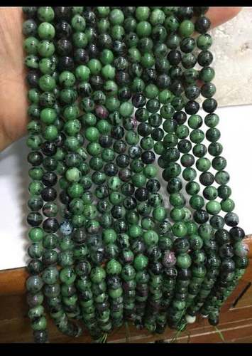 15.5 inch ruby zoisite round beads 8mm,ruby zoisite beads