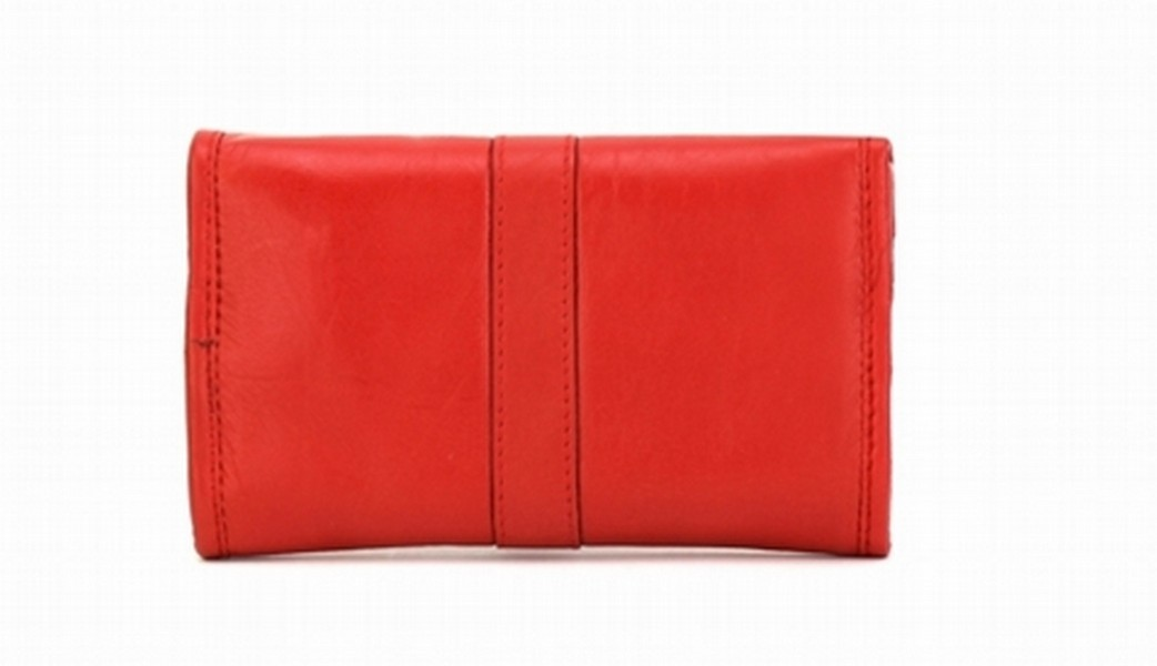 JEWELLERY ROLL BAG RED