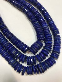 16 inches Finest natural lapis heishi tyre faceted beads,lapis heishi disc beads,6-10mm graduated