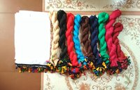 Design Tube Light Shiffon with Multi Lace Cut 2.25 Mts