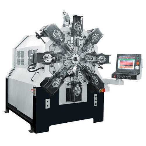 CMM-12-450R CNC Multi-Axes Spring Former Machine
