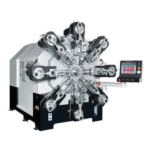 CMM-12-680R CNC Multi-Axes Spring Former Machine