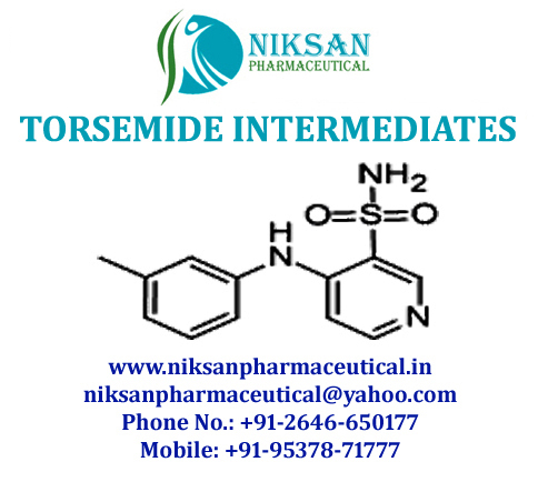 TORSEMIDE INTERMEDIATES