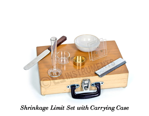 Shrinkage Limit Set With Mercury