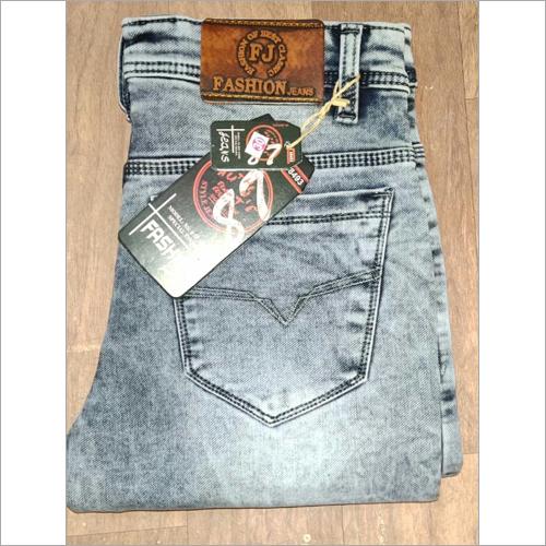 Trendy mens denim jeans