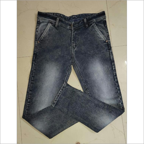 Cross pocket men denim jeans