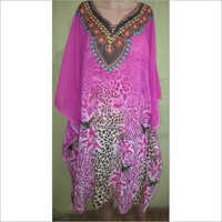 Digital Georgette kaftan