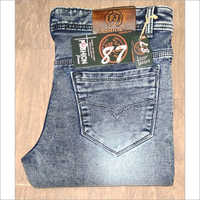 Men Denim Nitted Jeans