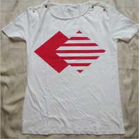women Light color top t shirt
