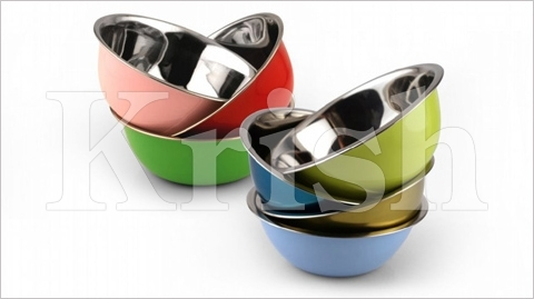 Colored Deep Mixing Bowl