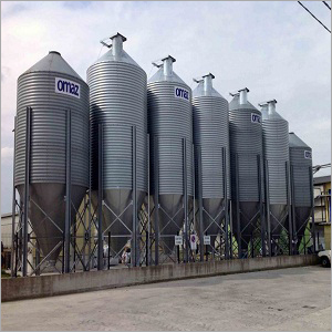 Poultry Chicken Feed Silos