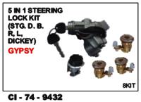 5 In 1 Steering Lock Kit L/R Dicky  Gypsy