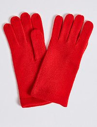 Industrial Leather Gloves (Red Winter)
