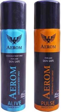 Aerom Alive & Pulse Body Spray