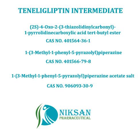 TENELIGLIPTIN INTERMEDIATES