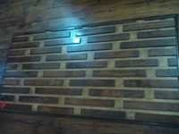 SOLID WOOD 3D WALL PANEL