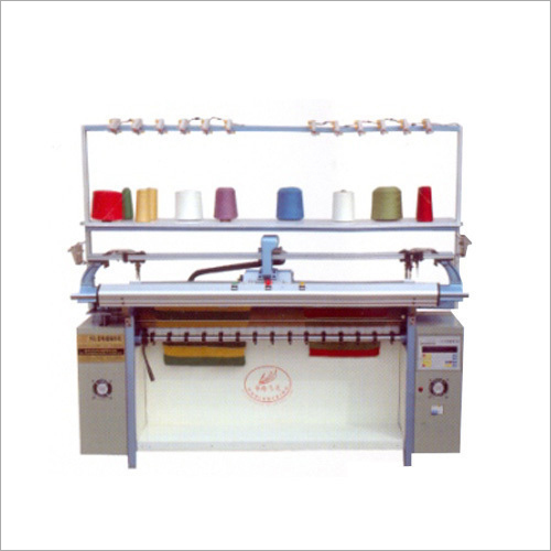 Electric Semi Automatic Power Flat Knitting Machine
