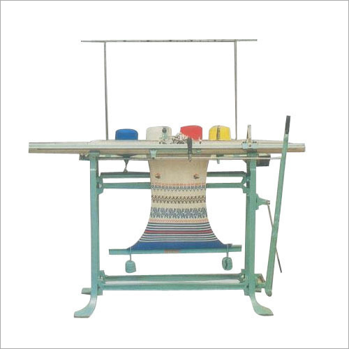 Handheld Flat Knitting Machine