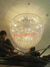 Round chandeliers