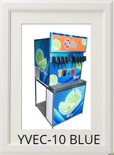 Stainless Steel Soda Shop Machine