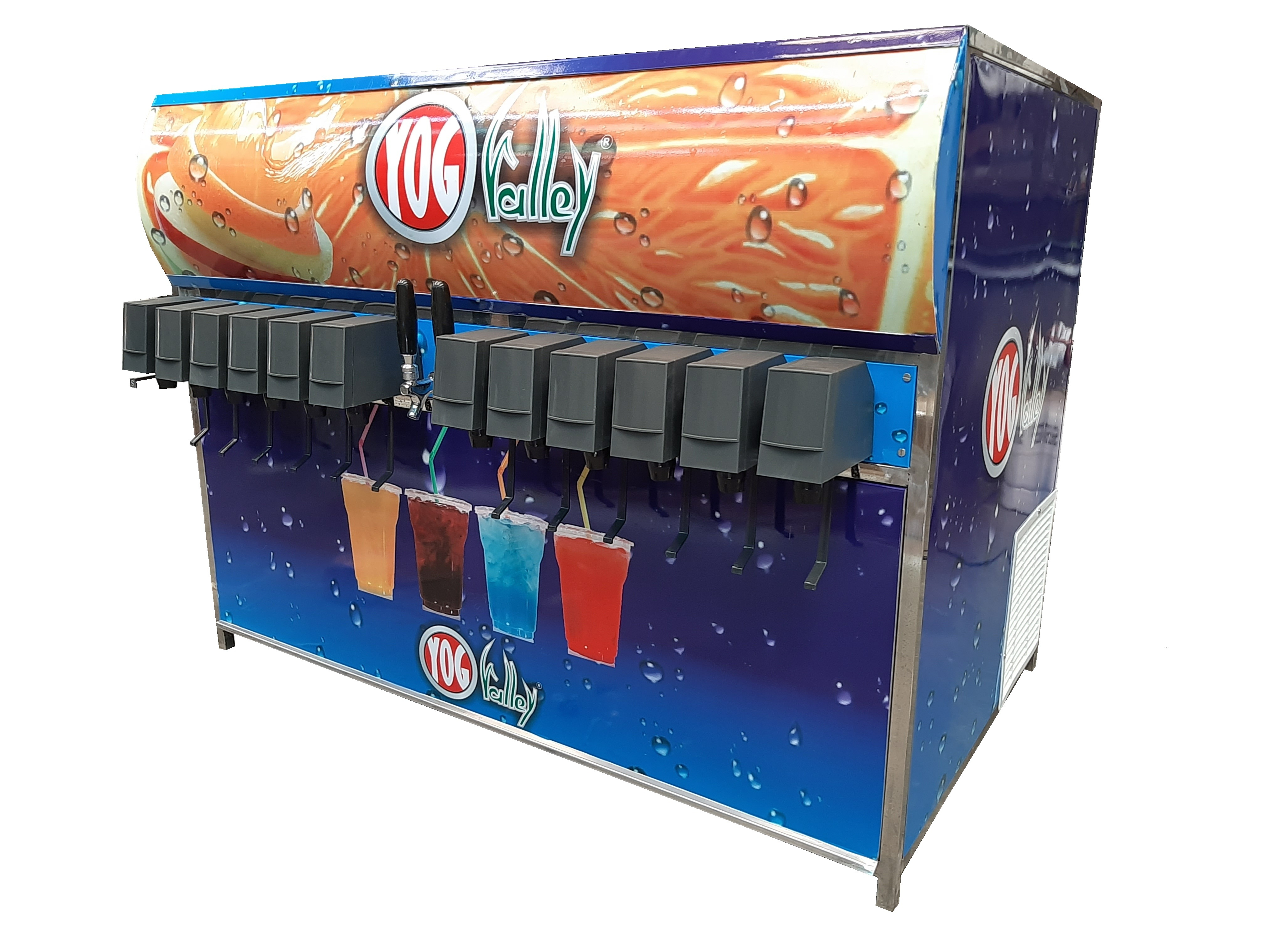 Stainless Steel Soda Shop Machine
