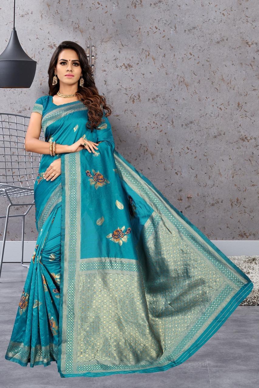 Banarasi Silk Rich Weaving Saree