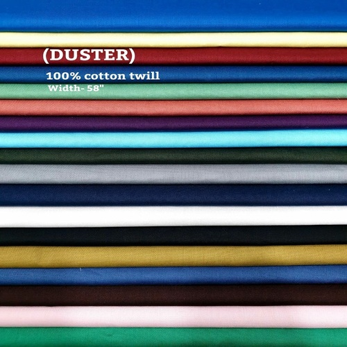 Duster 100% cotton twill