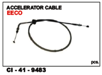 Accelerator Cable Eeco