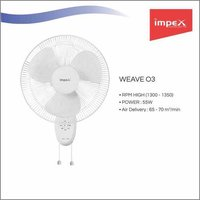IMPEX Wall Fan (WEAVE O3)