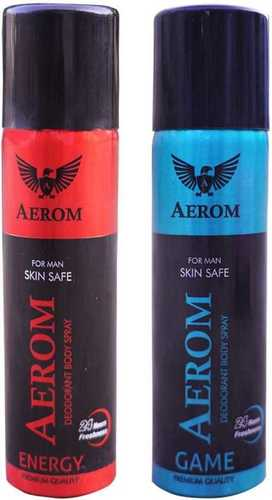 Aerom Energy Deodorant Body Spray
