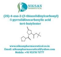 (2S)-4-Oxo-2-(3-thiazolidinylcarbonyl)-1-pyrrolidinecarboxylic acid tert-butyl ester