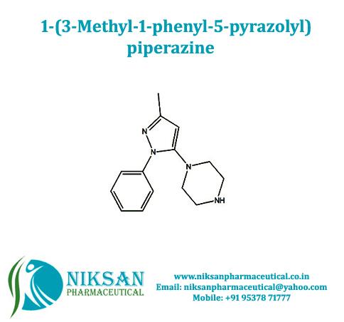 1-(3-Methyl-1-phenyl-5-pyrazolyl) piperazine