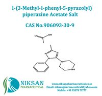 1-(3-Methyl-1-phenyl-5-pyrazolyl)piperazine acetate salt
