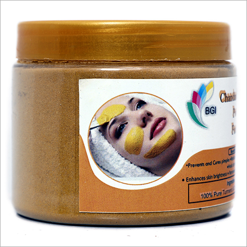 Chandan And Turmeric Powder Face Pack