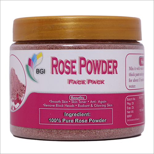Rose Powder Face Pack