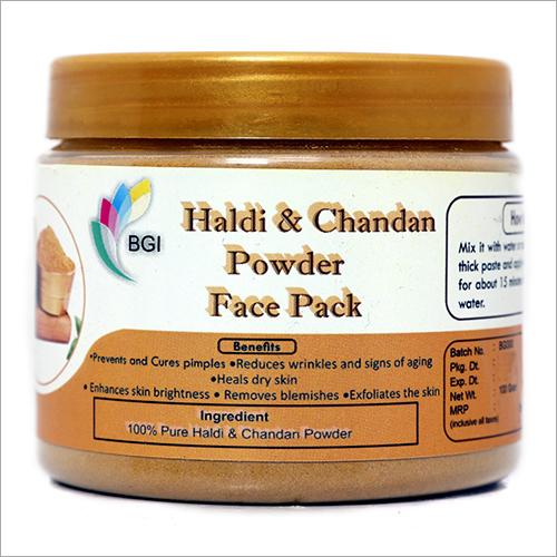 Haldi And Chandan Powder Face Pack