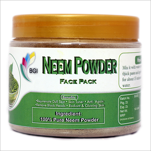 Neem Powder Face Pack