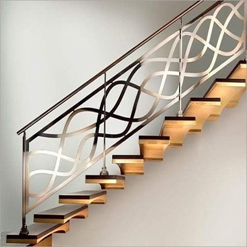 Designer SS Stair Railing