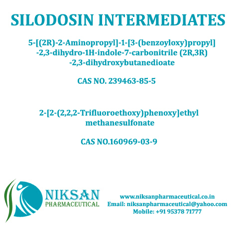 SILODOSIN INTERMEDIATES