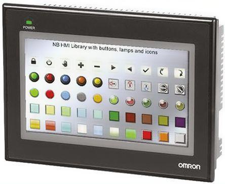 OMRON NB7W-TW00B HMI