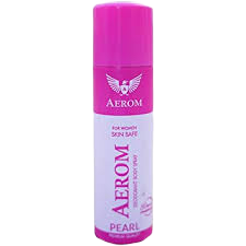 Women Pearl Deodorant Body Spray