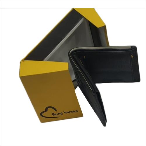 Bi Fold Black PU Leather Wallet