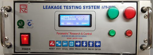 Decay Type Parametric Air Leak Tester