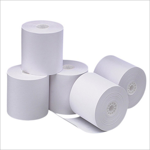 White Chromo Paper Roll