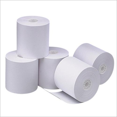 White Chromo Paper Roll