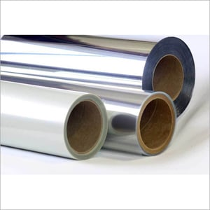 Silver Polyester Film Roll (Micron 4.5-250