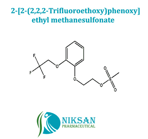2-[2-(2,2,2-Trifluoroethoxy)phenoxy]ethyl methanesulfonate