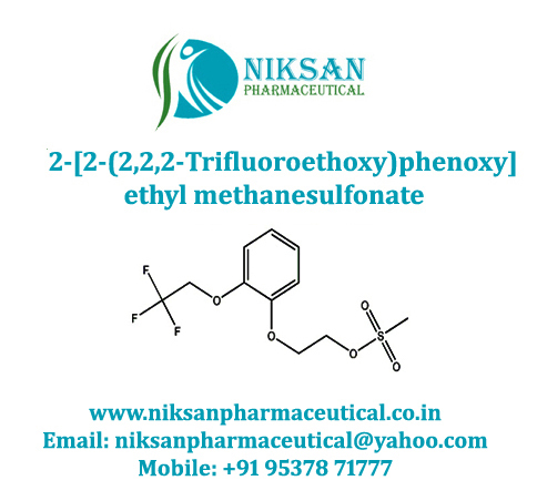 2-[2-(2,2,2-Trifluoroethoxy)phenoxy]ethyl methanesulfonate