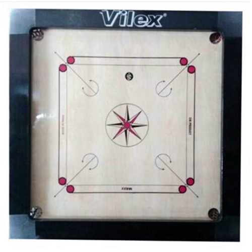 Vilex Club Wooden Carrom Board